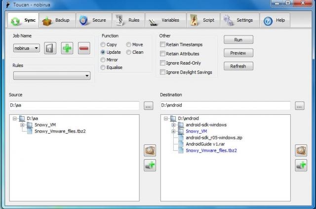 0101.vn - Đồng bộ, sao lưu, bảo vệ an toàn dữ liệu với Toucan
