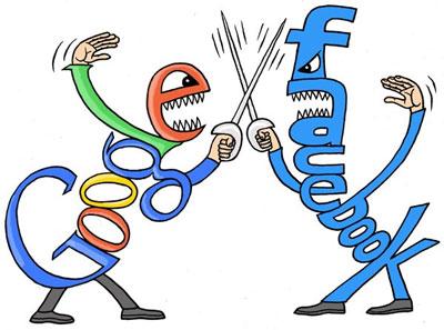"""0101.vn - Google """"chơi khó"""" Facebook: Quyết định sai lầm?"""